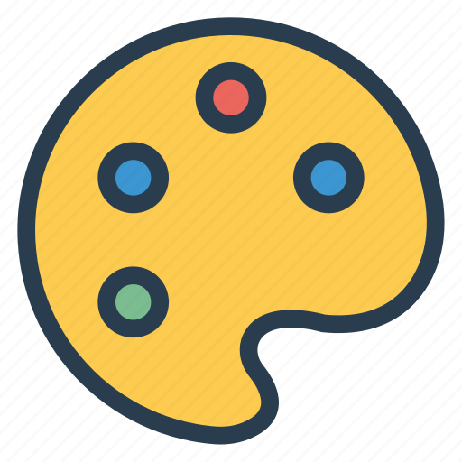 Color, drawing, paint, palette icon - Download on Iconfinder