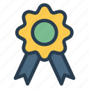 award, badge, prize, quality icon