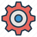 config, configuration, gear, setting icon