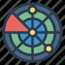 map, navigation, satellite, tracking icon
