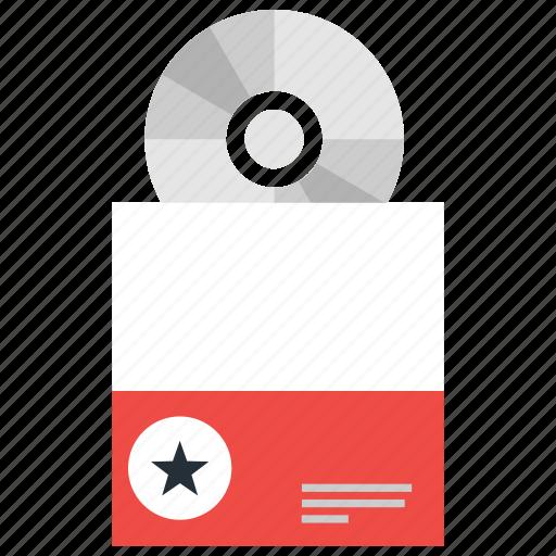 cd, cover, dvd, external, portable, storage icon