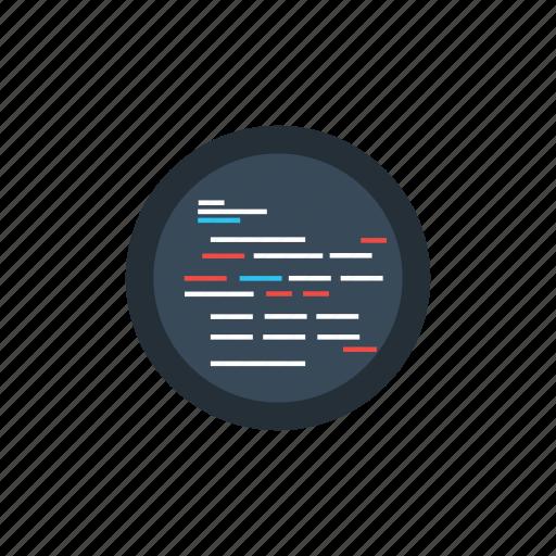code, design, line, ui, web icon