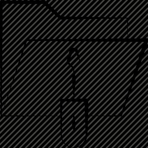folders, setting, settings icon