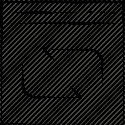 refresh, reload, reprocess icon