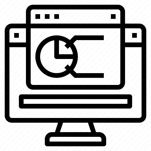 blogging, computer, design, ideas, laptop, programming, technology icon