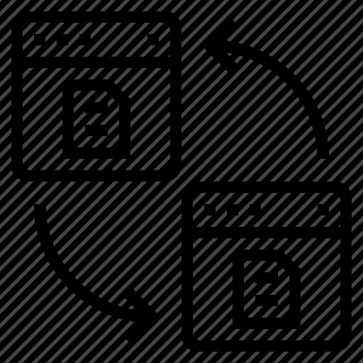 blogging, design, ideas, laptop, programming, technology, transfers icon