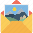 communication, email, email message, letter, mail icon