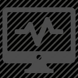 health, monitor, pc, screen, status icon