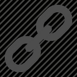 hyperlink, internet, link, web icon