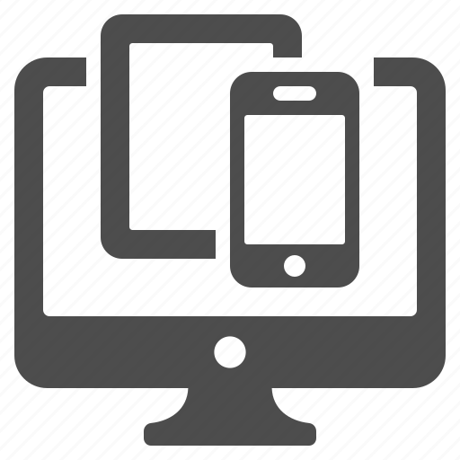 computer, phone, screen, smartphone, tablet icon