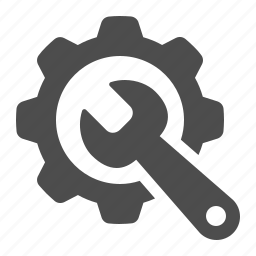 cog, configure, gear, seo, tool, wrench icon