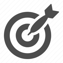 bullseye, dart, darts, marketing, target icon