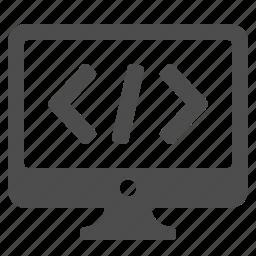 code, coding, computer, html, programming, seo icon