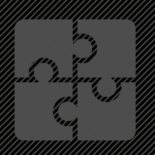 pieces, plugin, puzzle icon