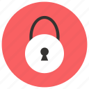 custom, lock icon icon