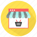 internet, online, page, shopping, web, website icon icon