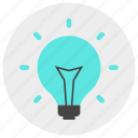 electricity, energy, idea, lamp, light, plug, power icon icon