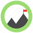 business, finance, marketing, mission icon icon