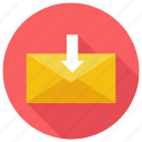download, email, mail, message icon icon