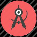 architect tool, drawing tool, geometric, parkar, preferences, tool, tools icon icon icon icon