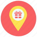 location, map, navigation, pin icon icon