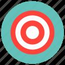 bullseye, goal, strategy, target icon icon