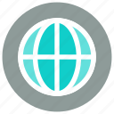 earth, global, globe, network, planet, web, world icon icon