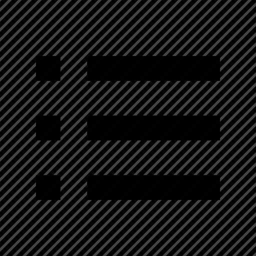 checklist, menu icon