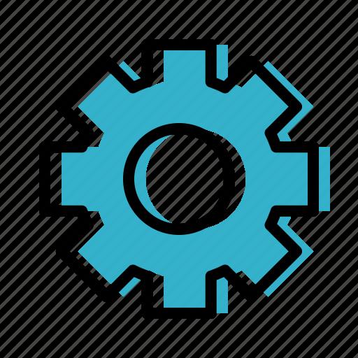 gear, setting icon