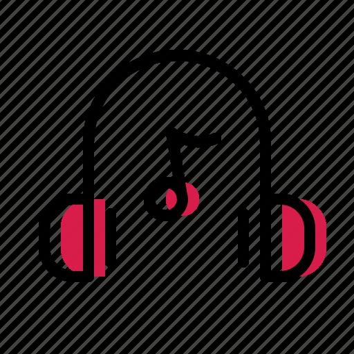 headphone, music icon