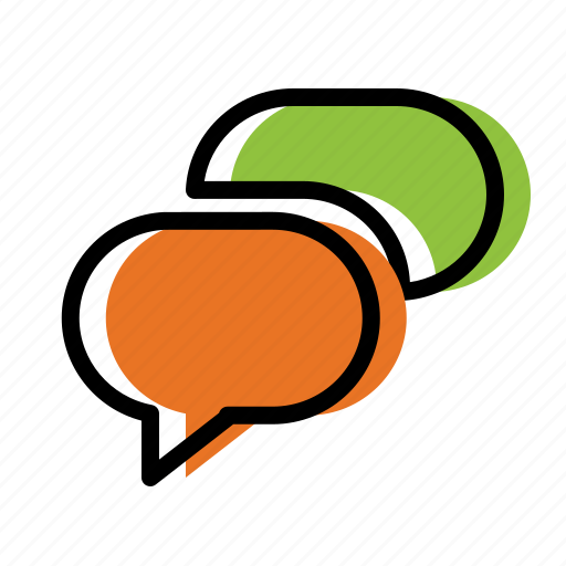 chat, chatting, communication, message icon