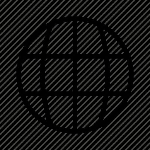 developer, globe, internet, web icon