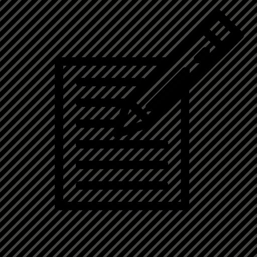 developer, internet, paper, pencil, web icon