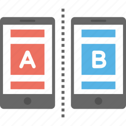 ab testing, load testing, multivariate testing, statistical hypothesis testing, web analytics icon