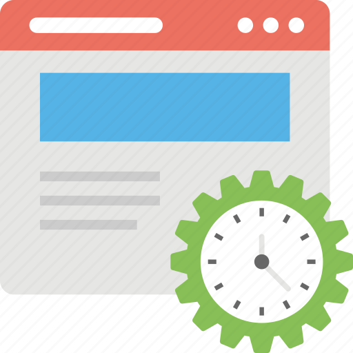 page loading software, page loading speed, software development, speed software, website speed test icon