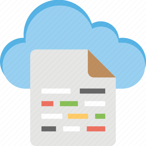 cloud data, cloud drive, cloud storage, sky docs, wireless data technology icon