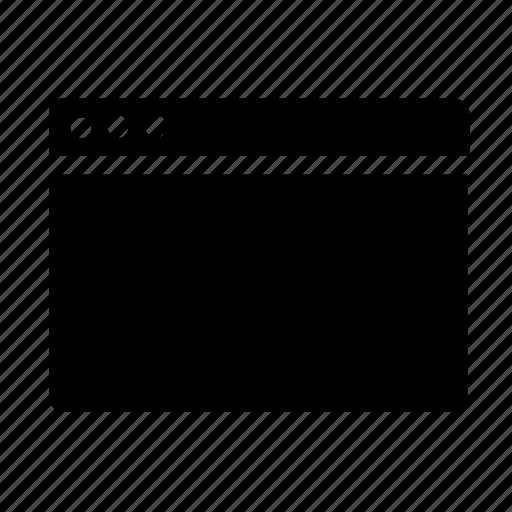 webpage, website, window icon