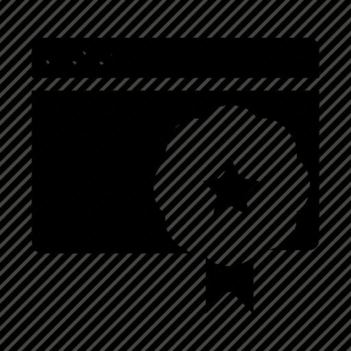 bookmark, webpage, website icon