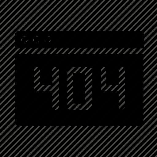 error, webpage, website icon