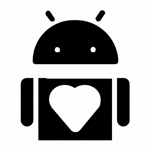 android, favorite, heart, interface icon