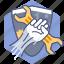 admin, development, hero, options, security, setup, tool icon