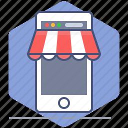 development, mobile, phone, purchase, shop, shopping, yumminky icon