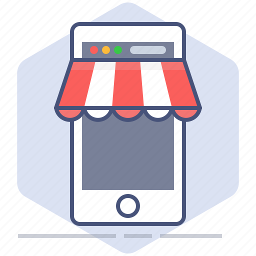 development, mobile, phone, purchase, shop, shopping, yumminky icon