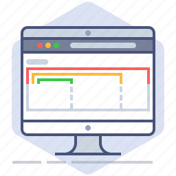 browser, computer, developer, development, responsive, web, yumminky icon