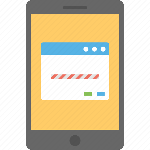 mobile access, mobile browser, mobile friendly website, mobile internet, mobile web icon