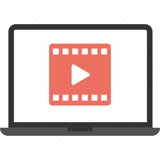 internet video, media entertainment, multimedia, online music, online video icon