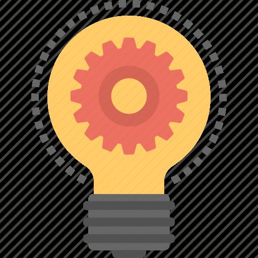 idea generation, innovation, strategy, technology, technology process icon