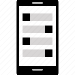 messages, mobile, phone icon