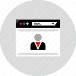 boss, development, user, web icon