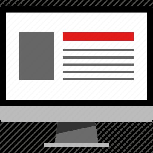 design, development, online icon